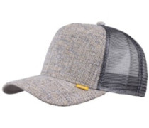 Colored Linen Trucker Cap yellow