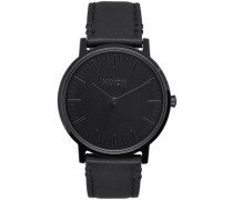 The Porter Leather all black