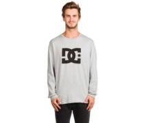 Star T-Shirt LS grey heather