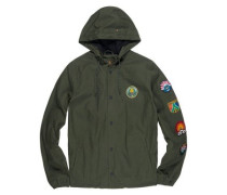 Ea Patched Jacket olive drab