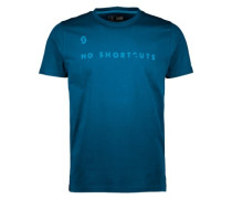 5 No Shortcuts T-Shirt lunar blue