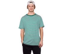Ranked Stripe T-Shirt white