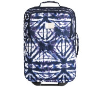 Wheelie Travellbag dress blues geometric fee