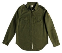 Military Influence Shirt LS burnt olive