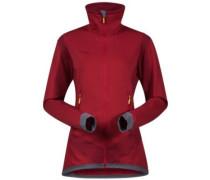 Roni Fleece Jacket burgundy