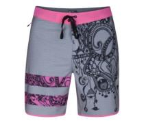 Phantom Block Party Julian Boardshorts neon pink