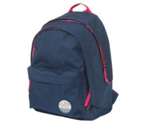 Solid Double Dome Backpack dark blue