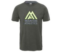 Wicker Graphic T-Shirt grape leaf heather