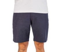 Back In Hybrid Shorts denim heather