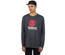 Vertical T-Shirt LS charcoal heathe