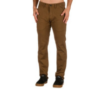 Flex Tapered Chino Pants brown