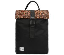 SP Nylon Leopard Pack Backpack black