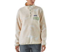 LW Synchilla Snap-T Sweater valley flora:ecru