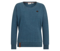 Green Schmusi IV T-Shirt LS dirty fresh blue melange