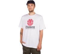 Vertical T-Shirt optic white