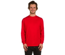420 Triple Triangle T-Shirt LS red