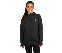 Merino Decade Mid Fleece Jacket black
