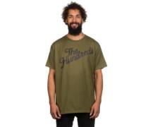 Slant Code T-Shirt military green