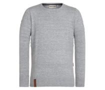 Schmiergelvampir V Pullover grey melange