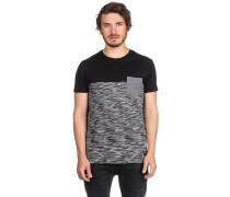 Space Slub Pocket T-Shirt black mel