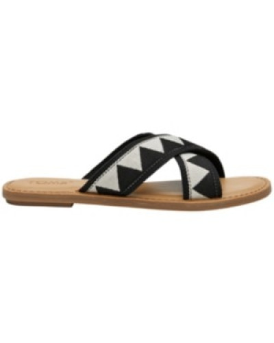 Viv Sandals Women black tribal