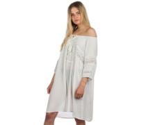 Boho Beach Cover Up Dress powder white