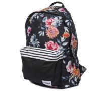 Dome Desert Flower Backpack black