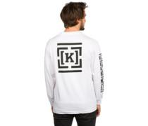 Lock Stack T-Shirt LS white