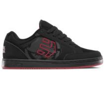 Metal Mulisha Swivel Skate Shoes red