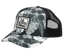 Lo' Tide Trucker Cap hibiscus palm
