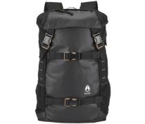 Small Landlock II Backpack all black nylon