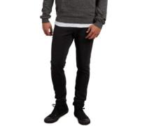 2X4 Tapered Jeans black ozone