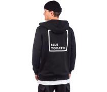 BT Authentic Backprint Zip Hoody black