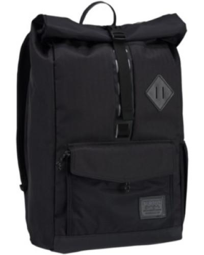 Export Backpack true black heather twill
