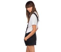 Cora Shorts white pop shortall