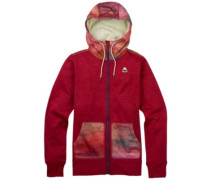 Quartz Zip Hoodie anemone heather