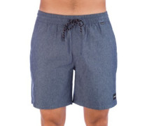 "Chambray Volley 18"" Shorts obsidian"