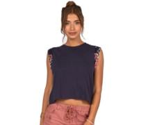 Karma T-Shirt deep sea blue