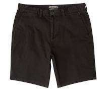 New Order Wave Wash Shorts raven