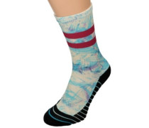 Ultraviolet Ahtletic Socks blue