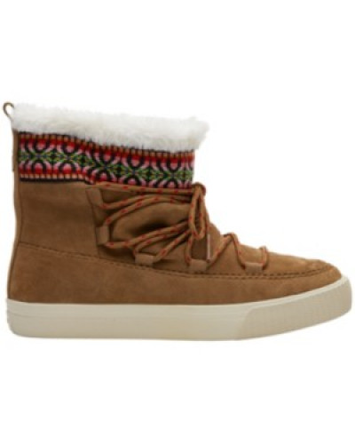 Alpine Boots Women toffee suede