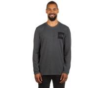 Fine T-Shirt LS tnf dark gry heathr (std)