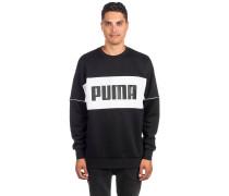 Retro Crew Dk Sweater black