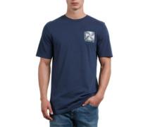 Stone Radiator T-Shirt navy