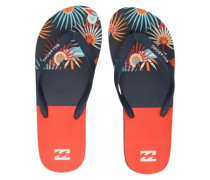 Tides Tribong Sandals red