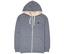 All Day Sherpa Zip Hoodie navy