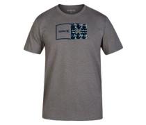 Siro Natural Print T-Shirt dark grey heather