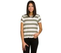 Kajsa Stripe T-Shirt olive