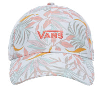 Court Side Printed Cap white california floral