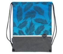 Drawstring Boardies Backpack blue